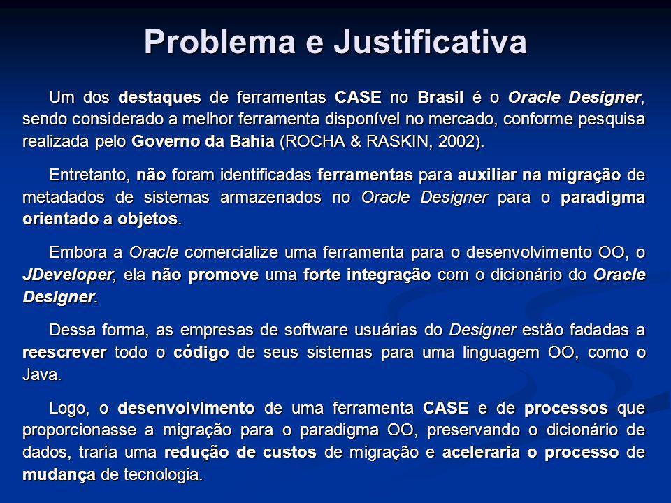 Problema e Justificativa