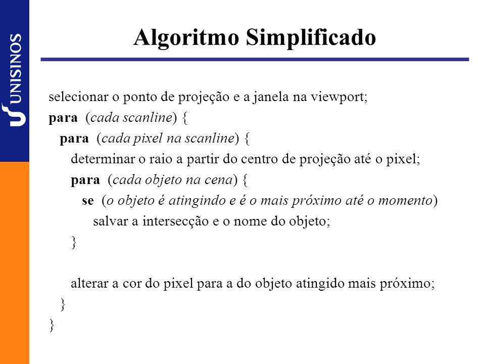 Algoritmo Simplificado