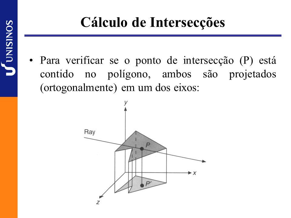 Cálculo de Intersecções