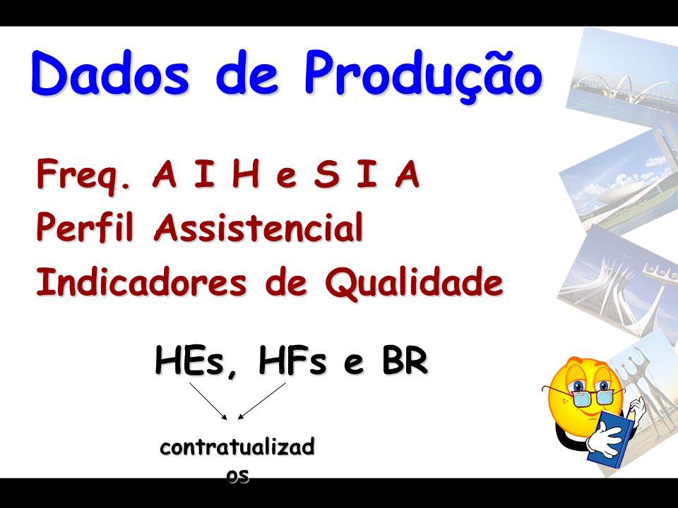 Dados de Produção Freq. A I H e S I A Perfil Assistencial
