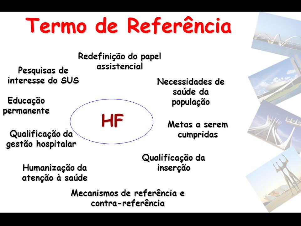 Termo de Referência HF Redefinição do papel assistencial