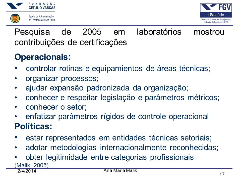 controlar rotinas e equipamientos de áreas técnicas;