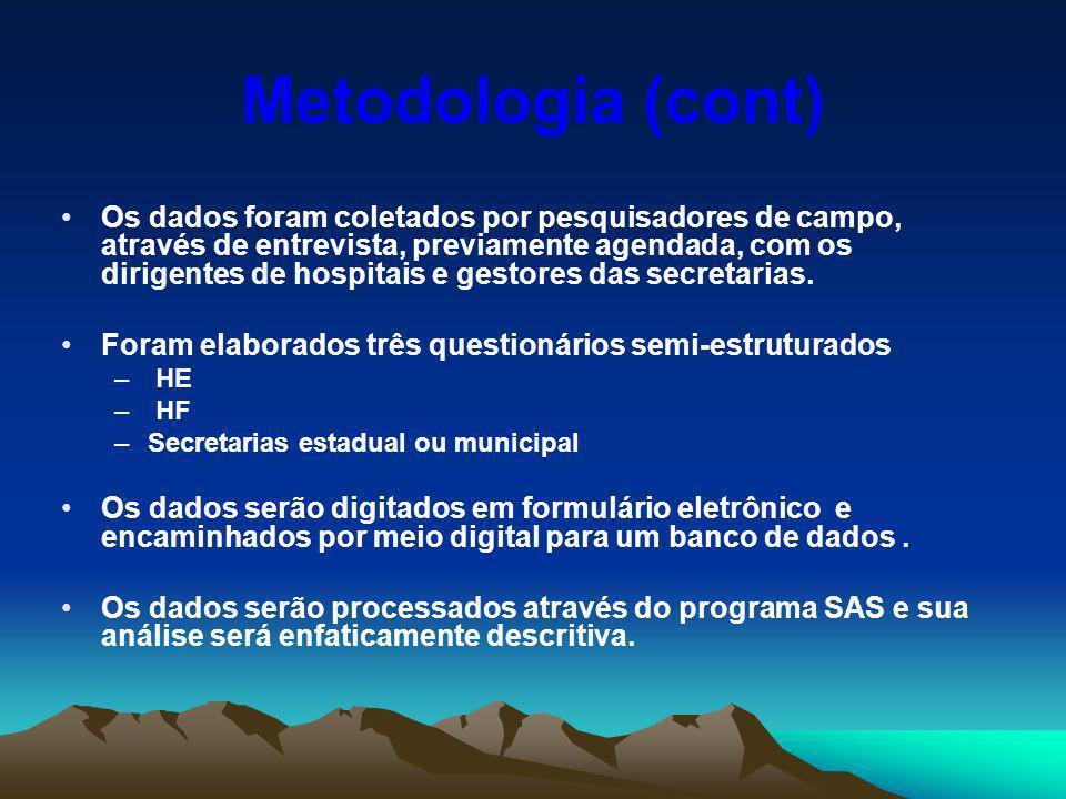 Metodologia (cont)