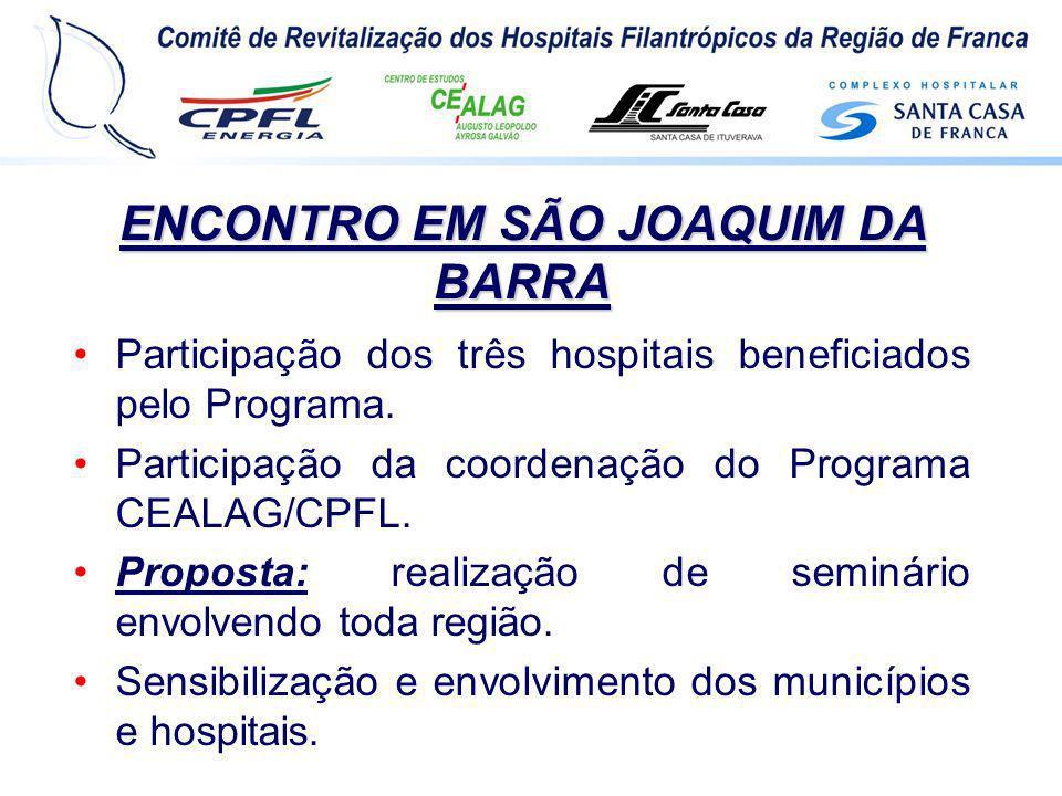 ENCONTRO EM SÃO JOAQUIM DA BARRA