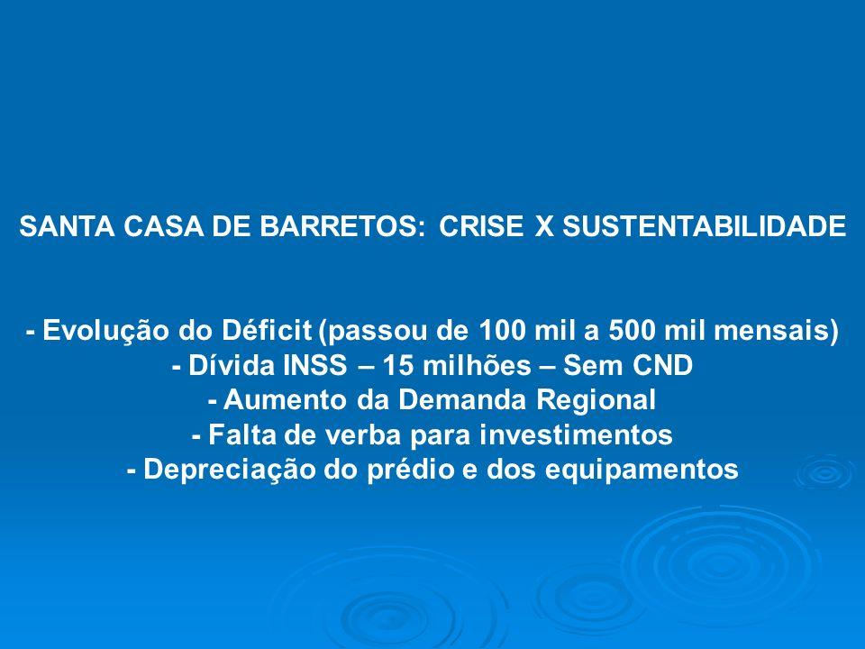 SANTA CASA DE BARRETOS: CRISE X SUSTENTABILIDADE