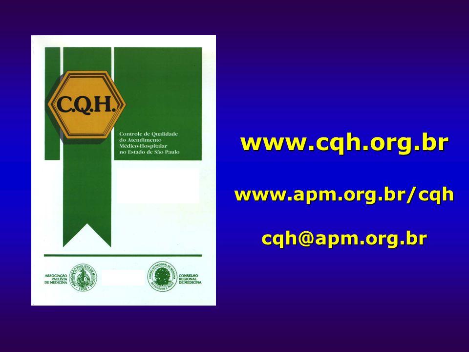 www.cqh.org.br www.apm.org.br/cqh cqh@apm.org.br