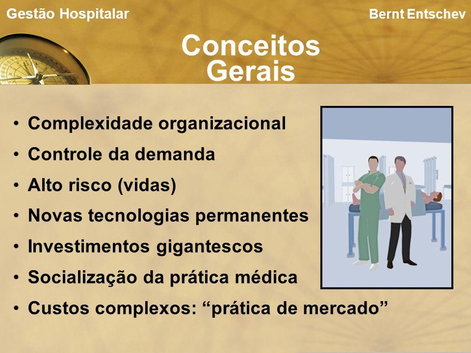 Conceitos Gerais Complexidade organizacional Controle da demanda