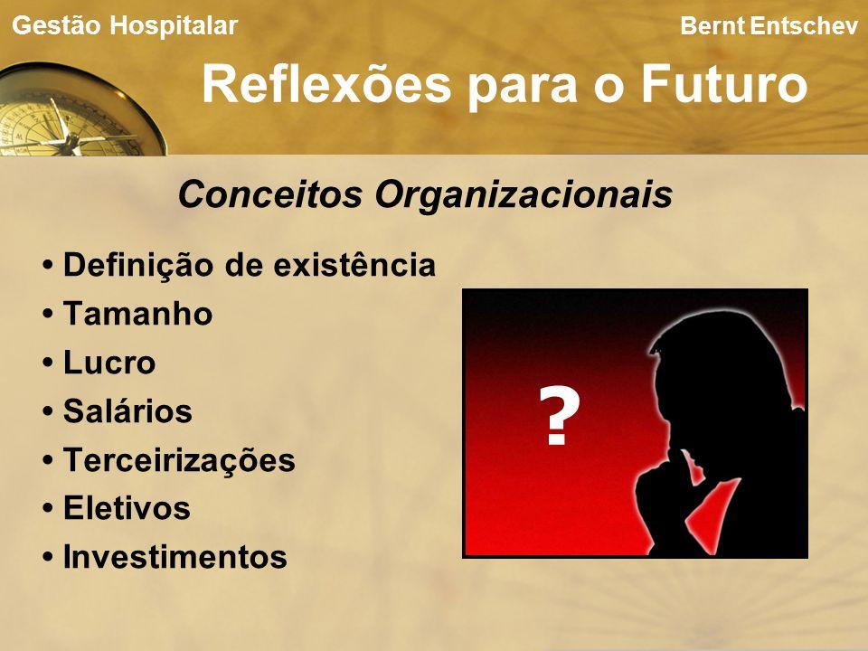 Reflexões para o Futuro Conceitos Organizacionais