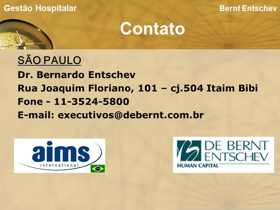 Contato SÃO PAULO Dr. Bernardo Entschev