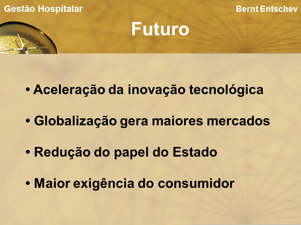 Futuro • Aceleração da inovação tecnológica