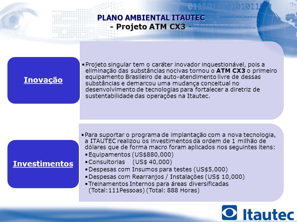 PLANO AMBIENTAL ITAUTEC