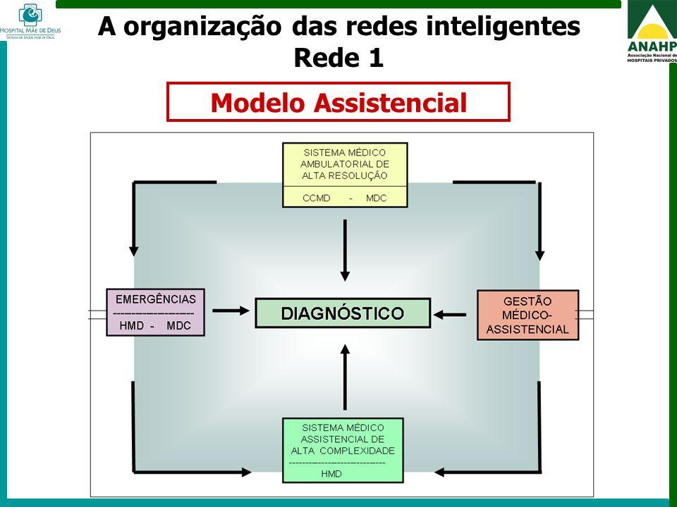 A organização das redes inteligentes Rede 1
