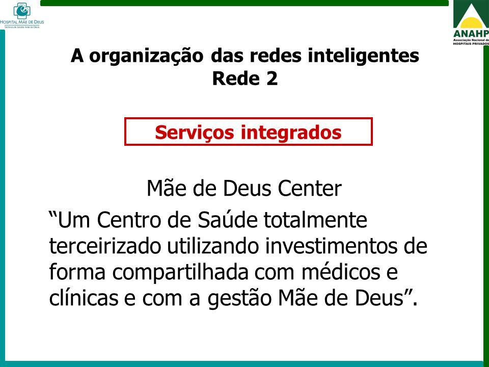 A organização das redes inteligentes Rede 2