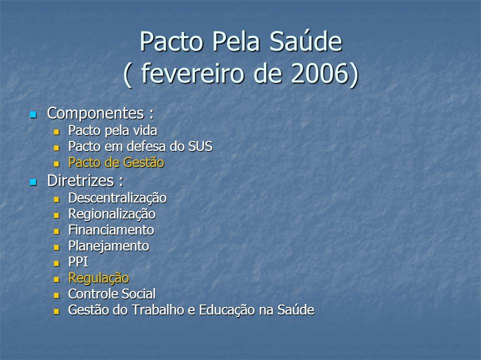 Pacto Pela Saúde ( fevereiro de 2006)