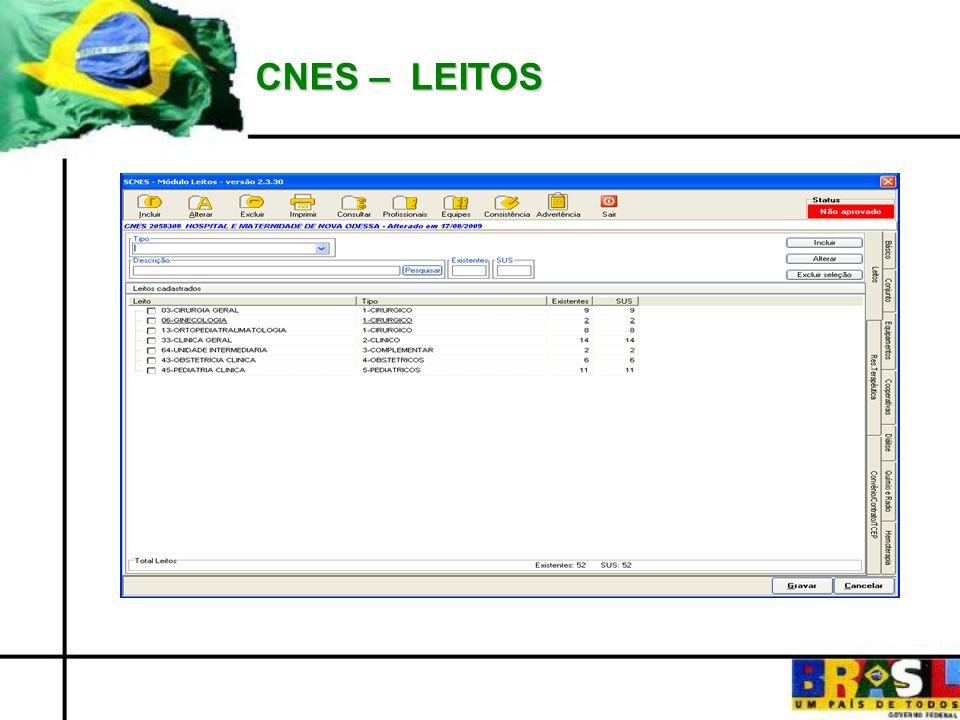 CNES – LEITOS