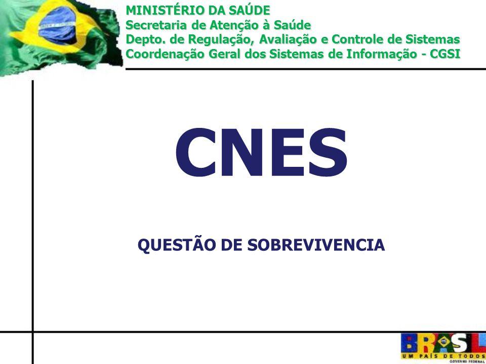 CNES QUESTÃO DE SOBREVIVENCIA