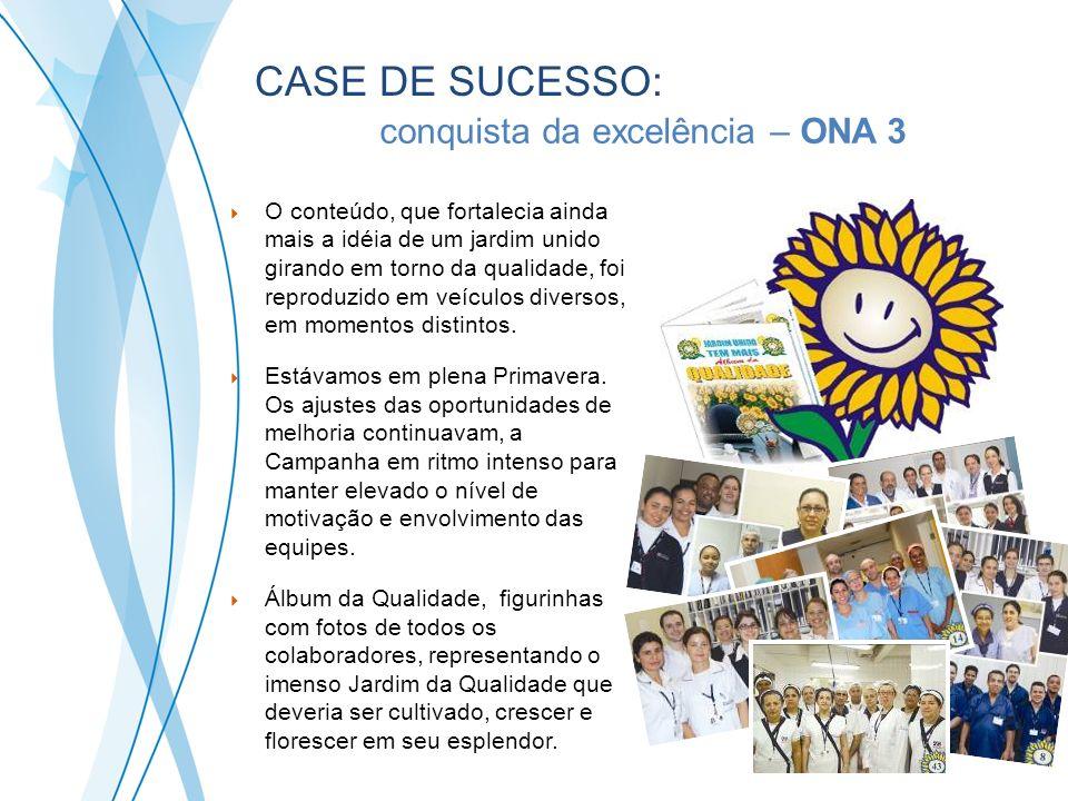 A conquista da excelência – ONA 3