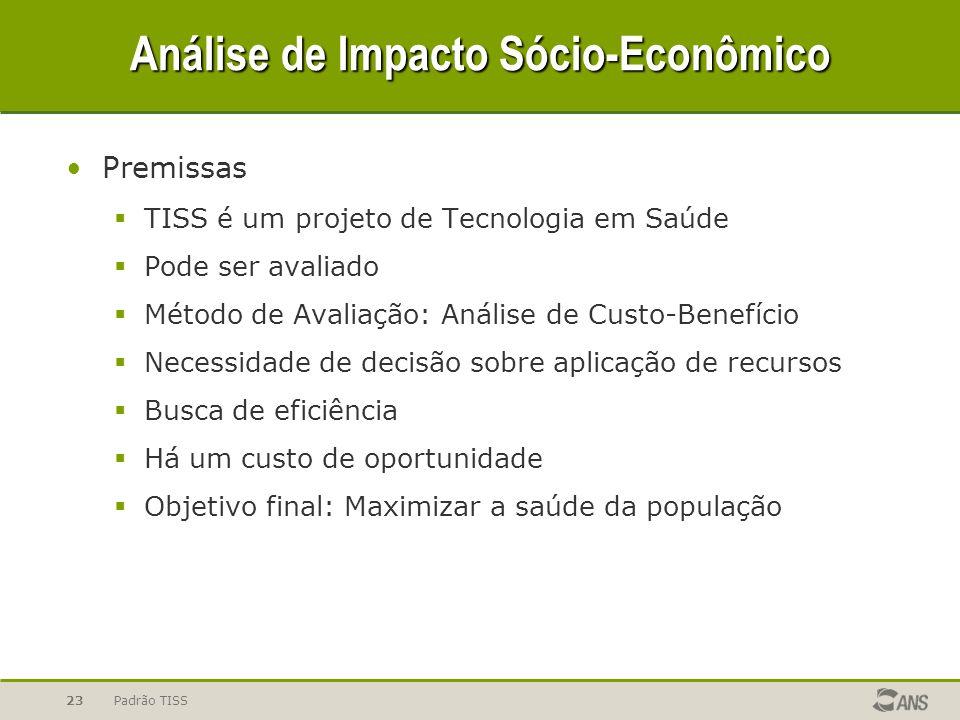 Análise de Impacto Sócio-Econômico