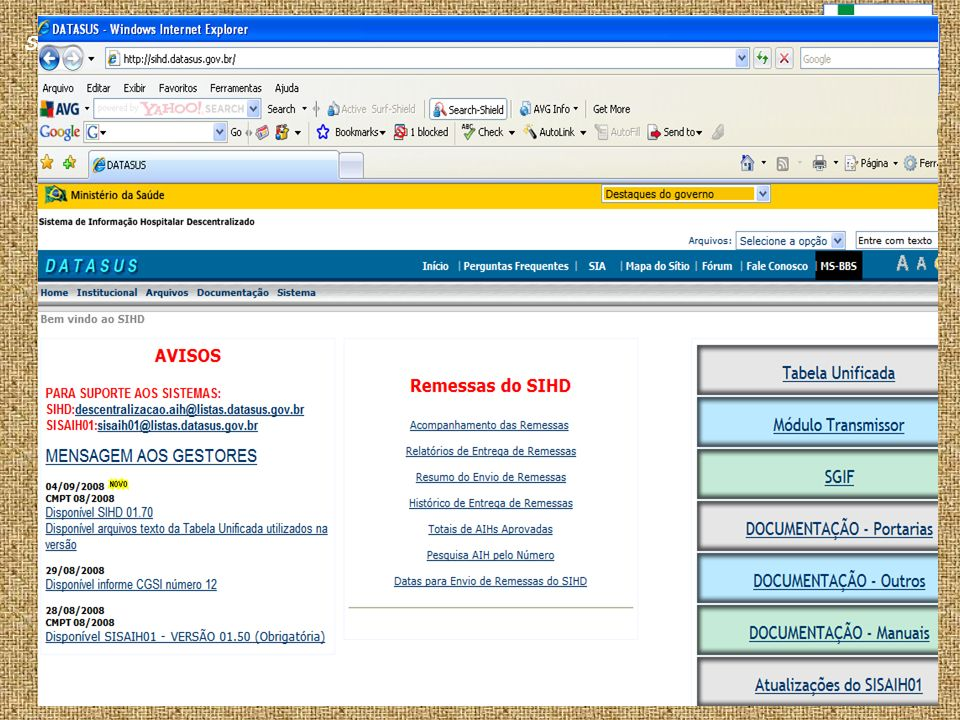 SAS/DRAC/CGSI
