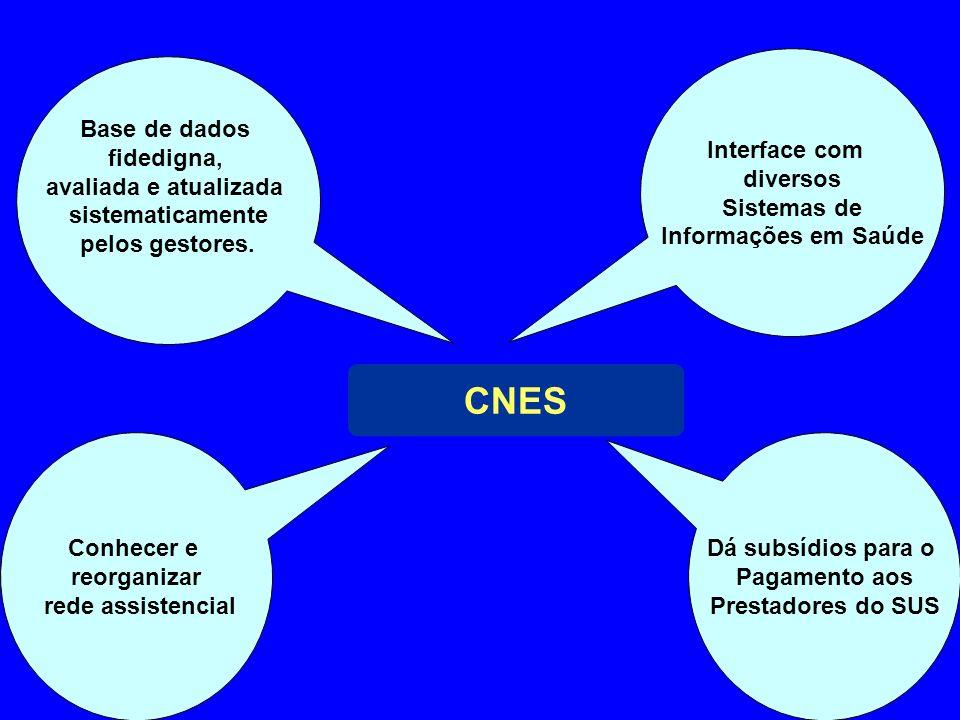 CNES Interface com diversos Sistemas de Informações em Saúde