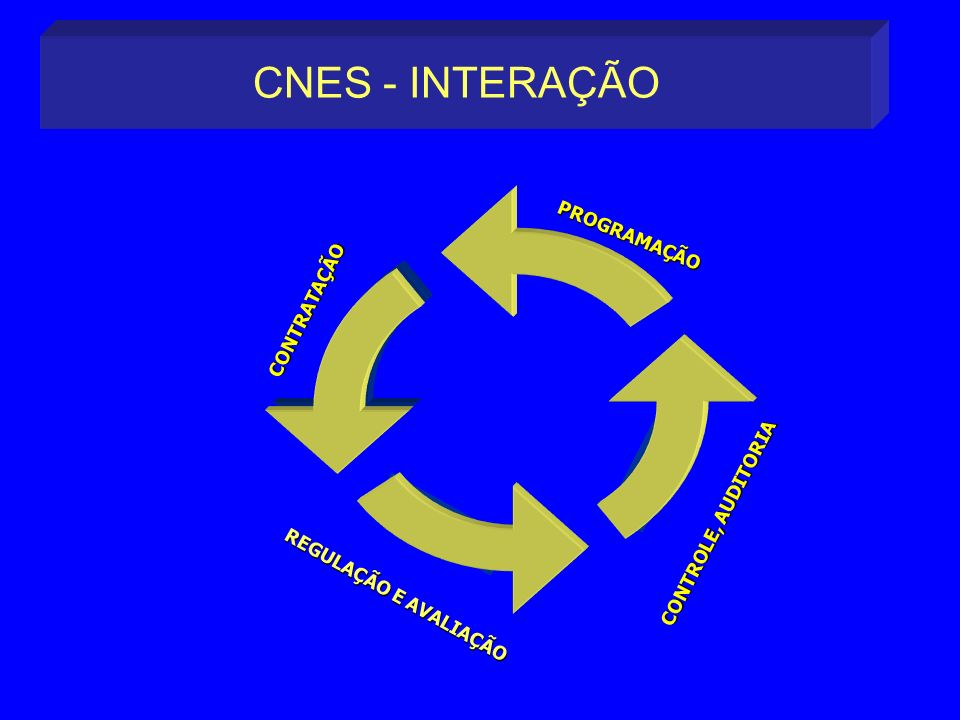 CNES - INTERAÇÃO CNES PROGRAMAÇÃO CONTRATAÇÃO AVALIAÇÃO