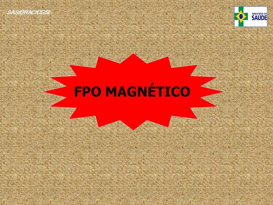 SAS/DRAC/CGSI FPO MAGNÉTICO