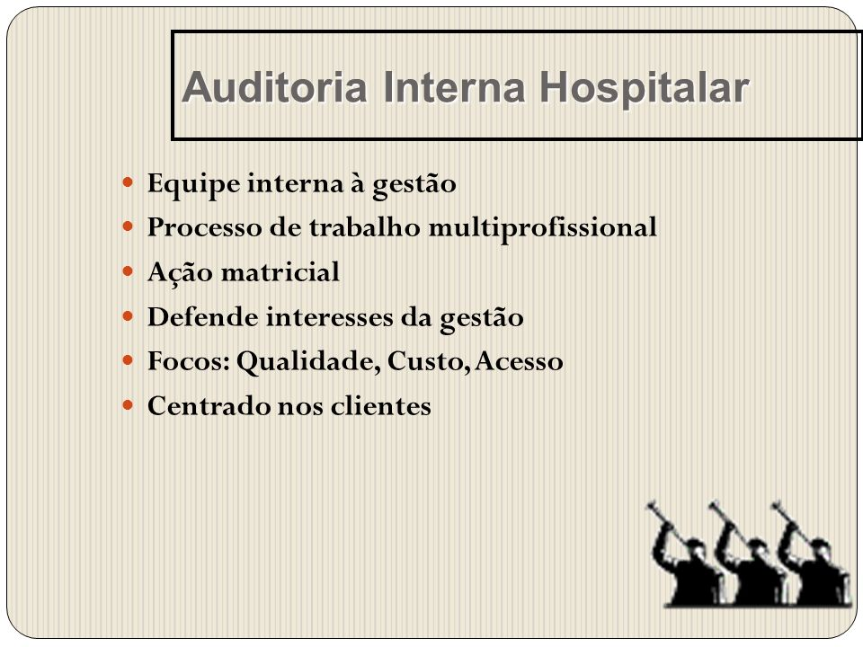 Auditoria Interna Hospitalar