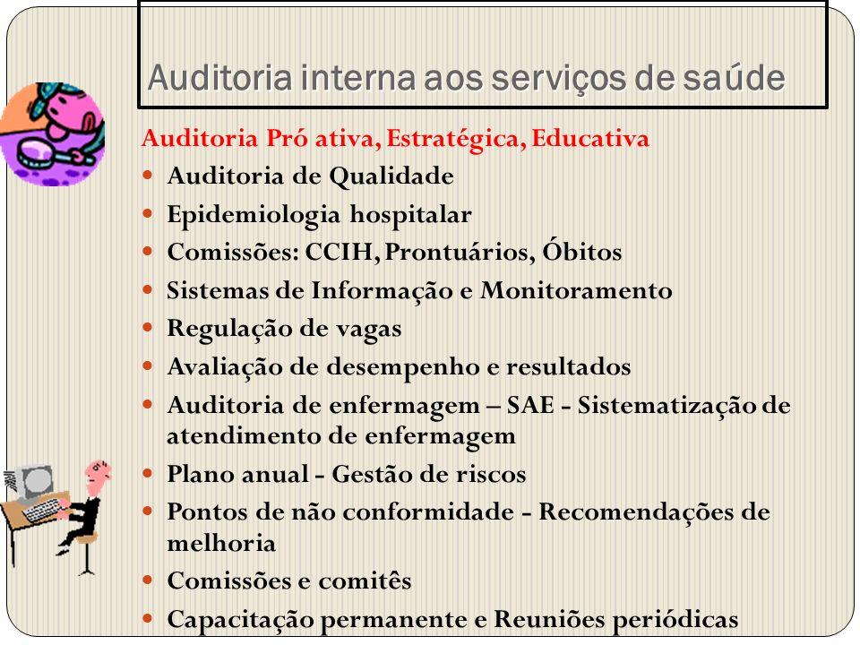 Auditoria interna aos serviços de saúde
