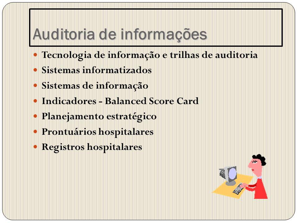 Auditoria de informações
