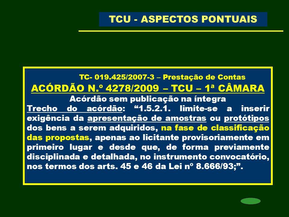 TC- 019.425/2007-3 – Prestação de Contas