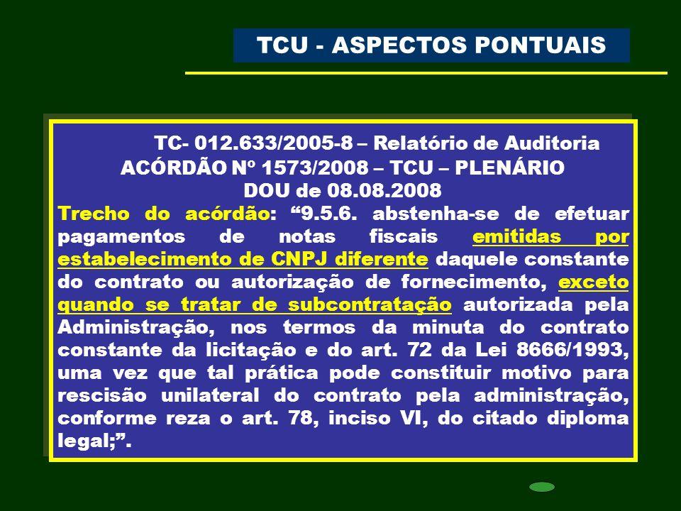 TC- 012.633/2005-8 – Relatório de Auditoria