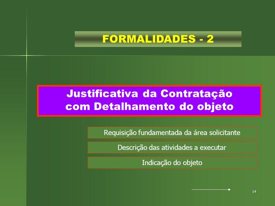Justificativa da Contratação com Detalhamento do objeto