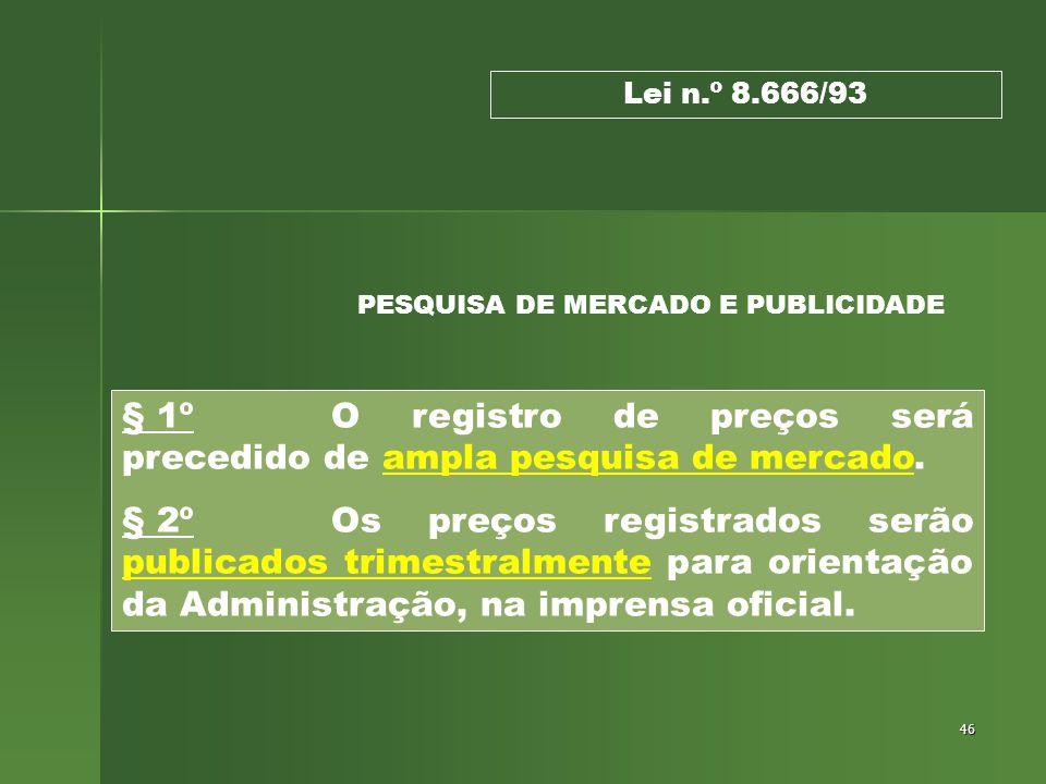 PESQUISA DE MERCADO E PUBLICIDADE
