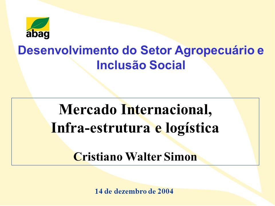 Mercado Internacional, Infra-estrutura e logística