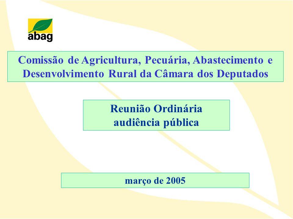 Comissão de Agricultura, Pecuária, Abastecimento e Desenvolvimento Rural da Câmara dos Deputados