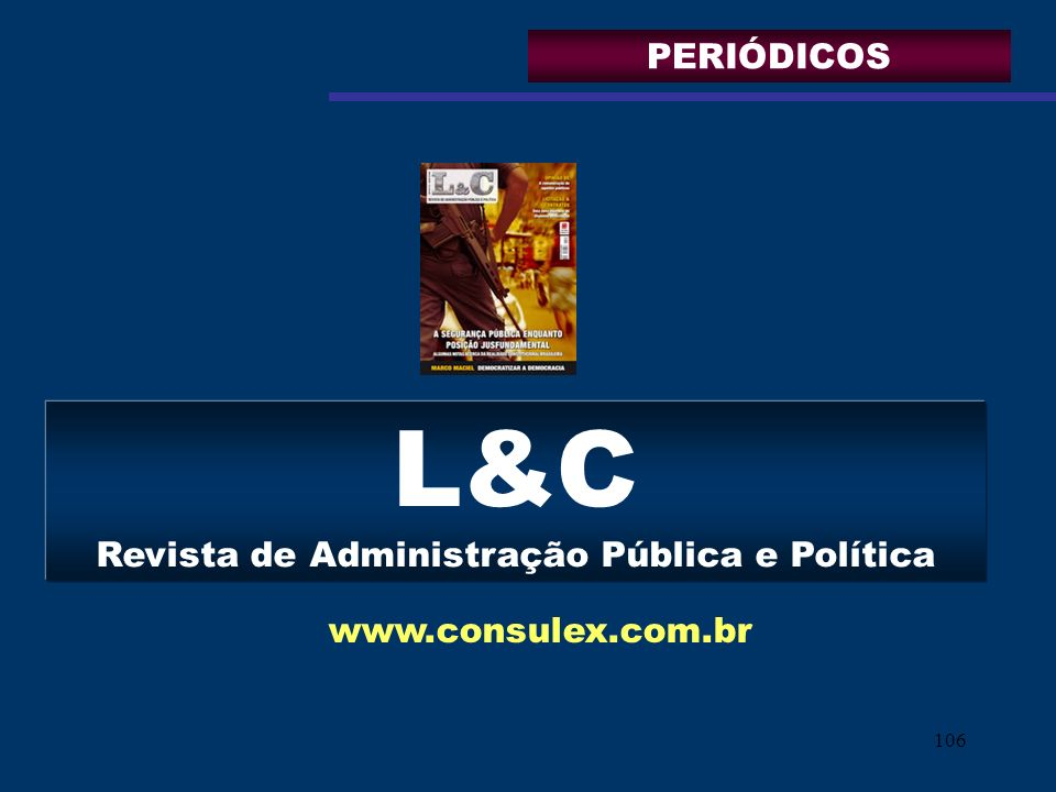 L&C Revista de Administração Pública e Política