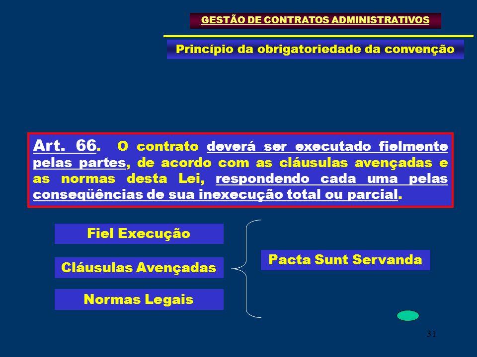 GESTÃO DE CONTRATOS ADMINISTRATIVOS