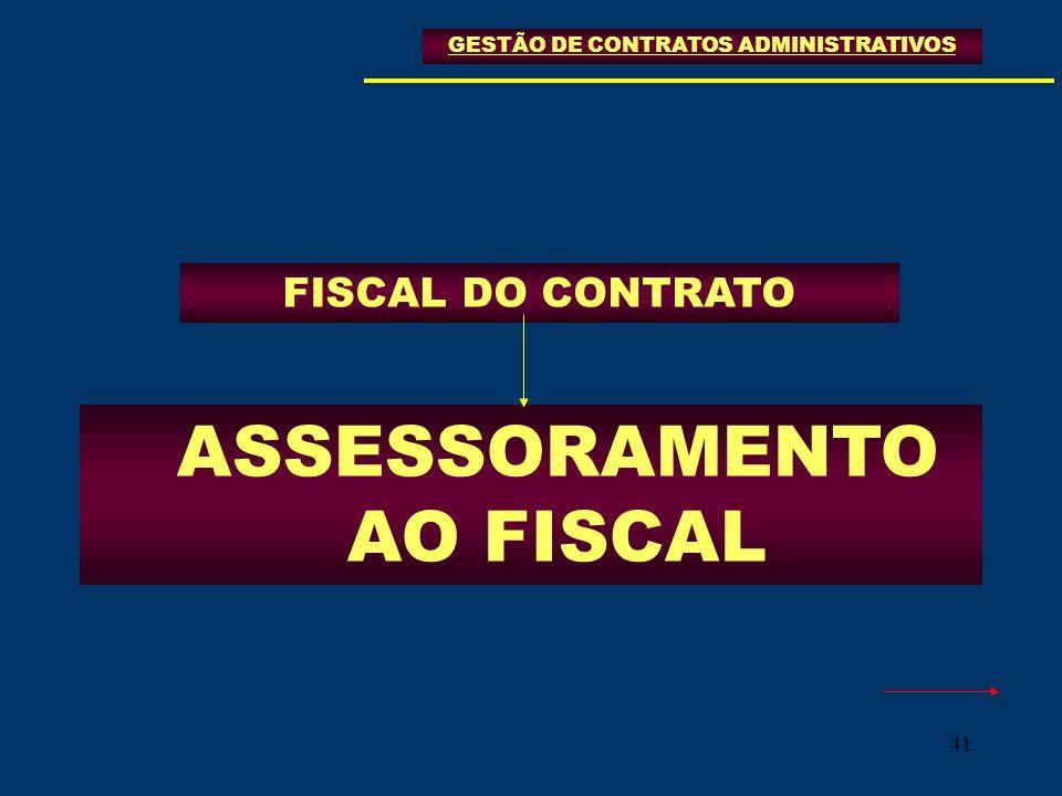 ASSESSORAMENTO AO FISCAL