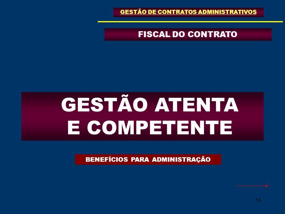 GESTÃO ATENTA E COMPETENTE