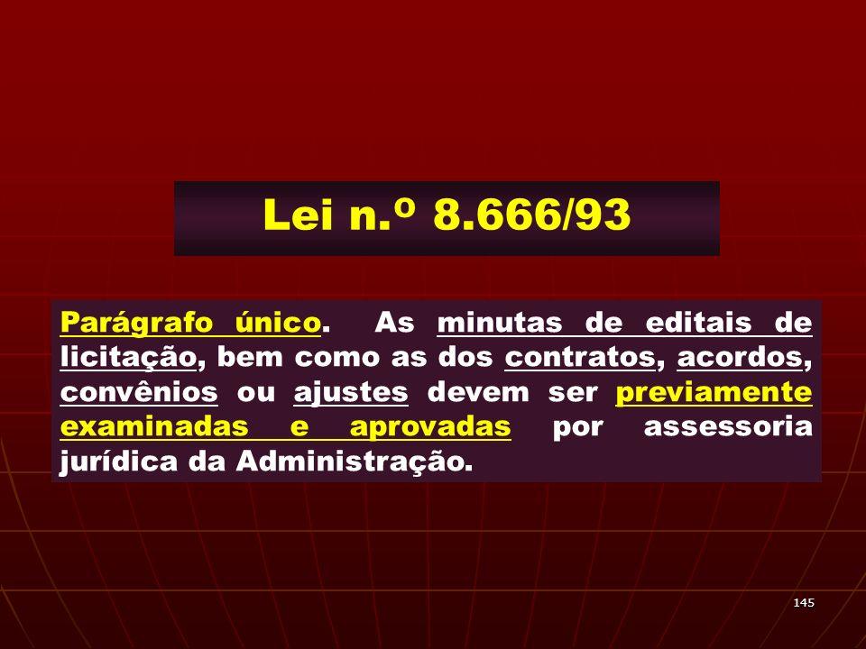 Lei n.º 8.666/93