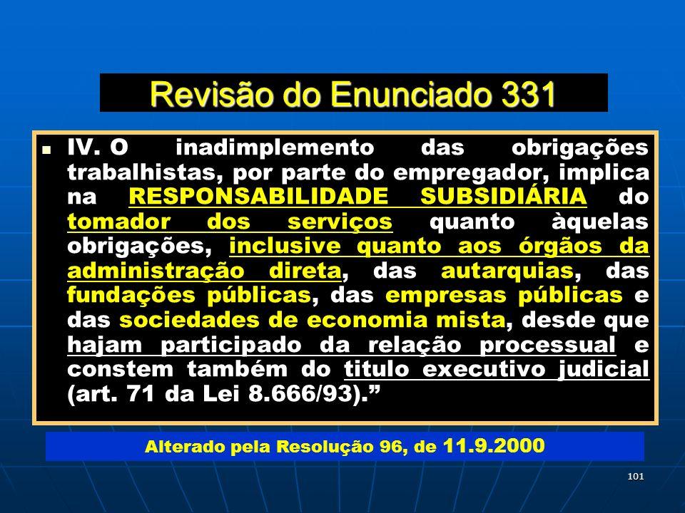 Alterado pela Resolução 96, de 11.9.2000