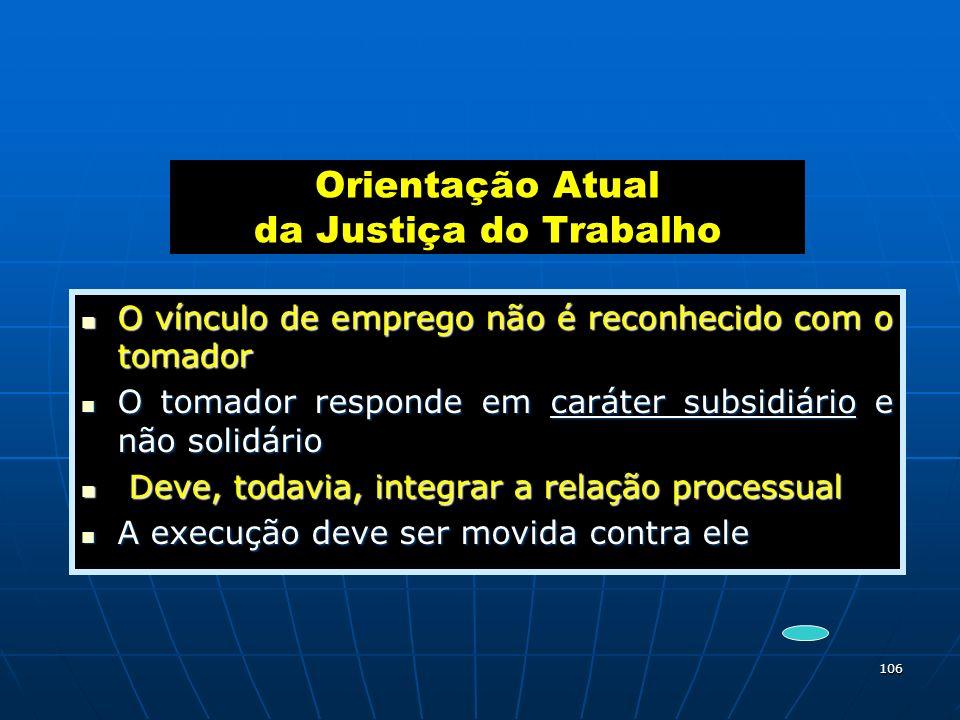 Orientação Atual da Justiça do Trabalho