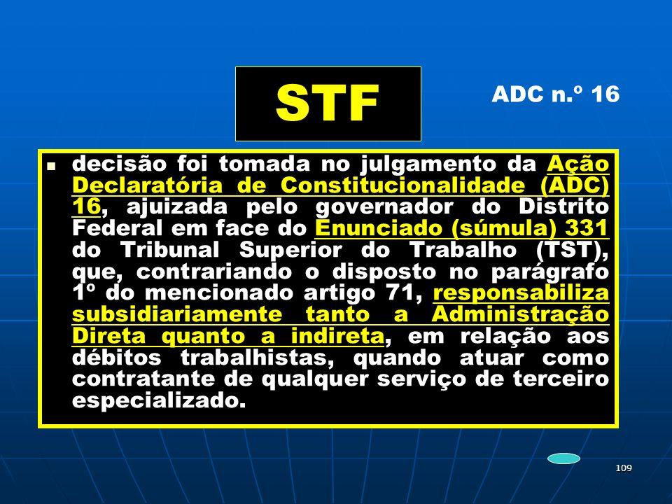 STF ADC n.º 16.