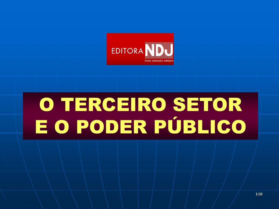 O TERCEIRO SETOR E O PODER PÚBLICO