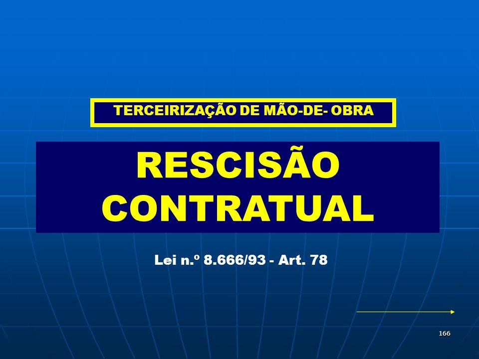 TERCEIRIZAÇÃO DE MÃO-DE- OBRA
