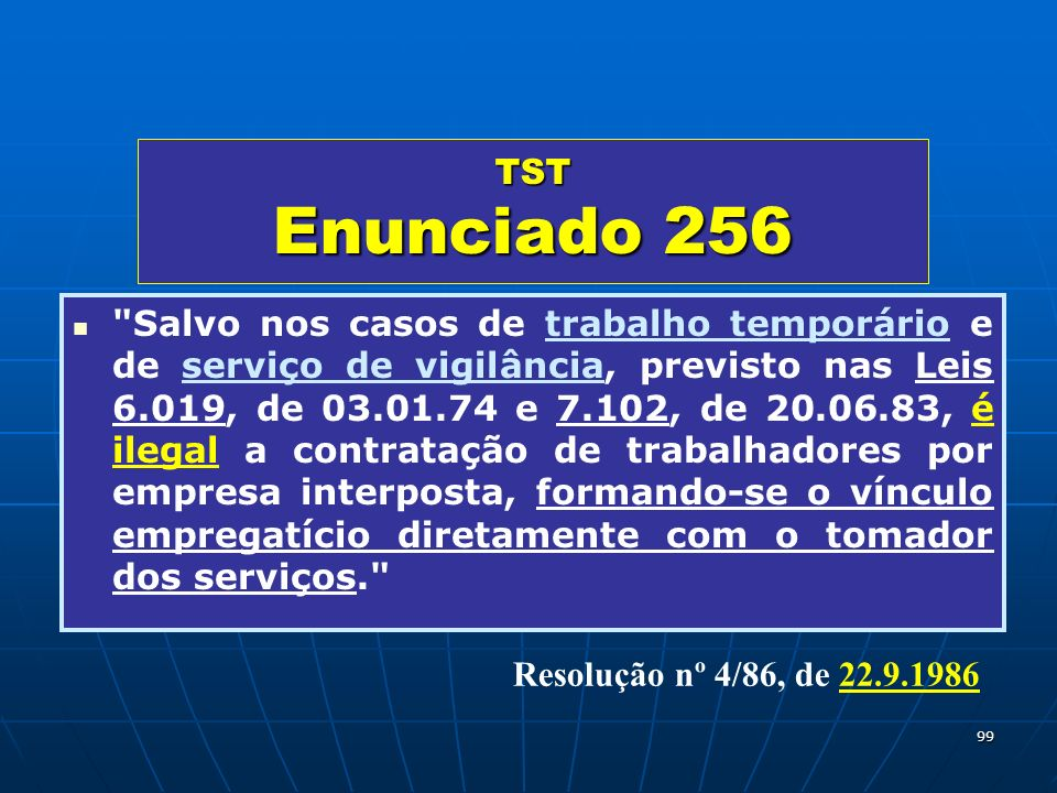TST Enunciado 256