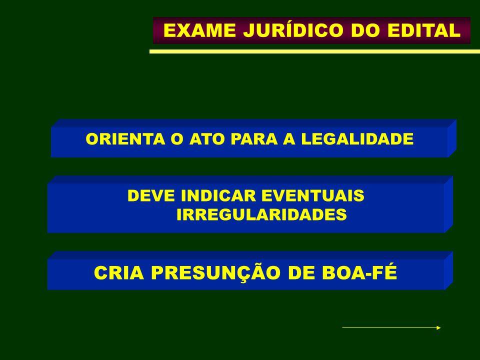 CRIA PRESUNÇÃO DE BOA-FÉ