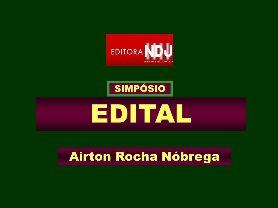 SIMPÓSIO EDITAL Airton Rocha Nóbrega