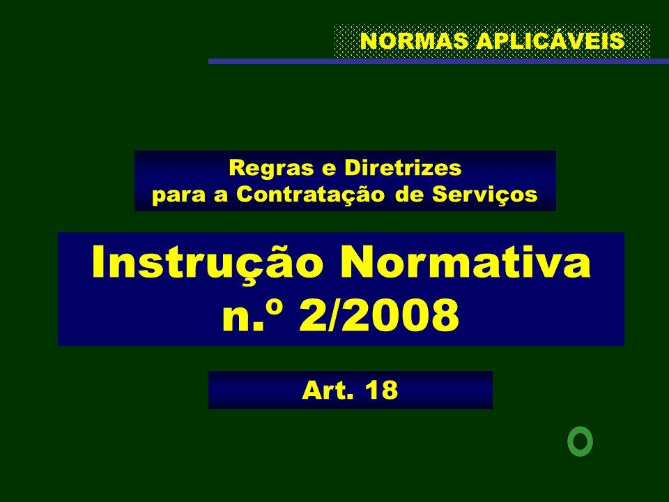 Instrução Normativa n.º 2/2008
