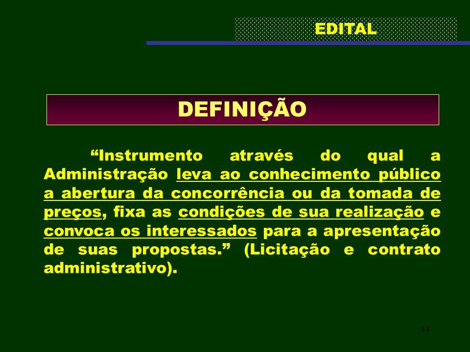 EDITAL DEFINIÇÃO.